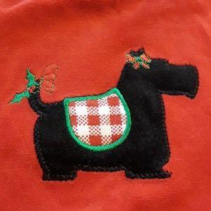 J. Khaki Dresses - 💎3/$25💎 Scotty Christmas Dress